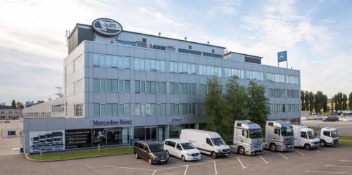 АТЛАНТ Центр коммерческой техники Mercedes-Benz