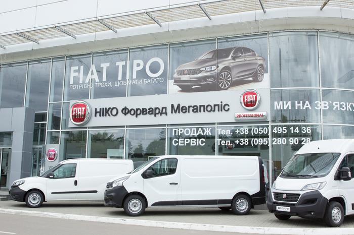 Fiat «НІКО Мегаполіс»